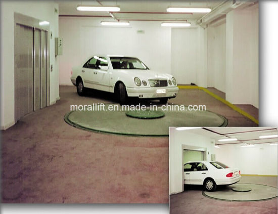 Hydraulic Auto Turnplate for Garage Parking pictures & photos