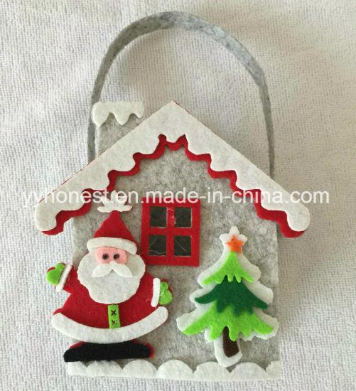 China Christmas Decoration Bags Felt Material Christmas Gift Bags ...