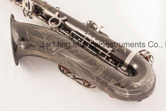 Black Nickel Plated Tenor Saxophone Good Quality Cheap pictures & photos