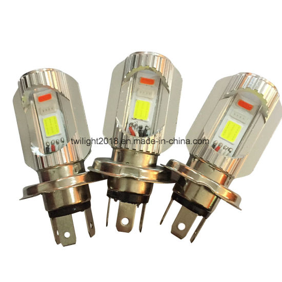 New Hotsell Style H4 P43t-2COB LED Strong Power Light Auto Bulb for Car and Motorcycle Headlight
