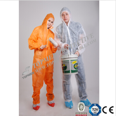 Breathable Waterproof Microporous Coverall for Men pictures & photos