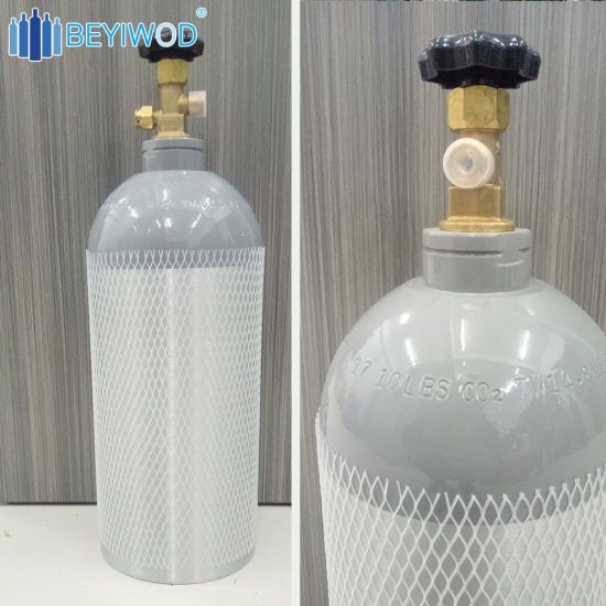 10 Lbs CO2 Tank Aluminm Cylinder with Cga320 Valve