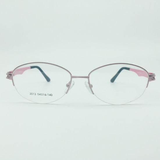 China Handmade Woman Nice Metal Optical Frames Glasses - China Metal ...