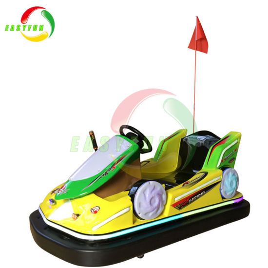 Amusement Park 500W Battery Operated Electric Bumper Cars for Kids