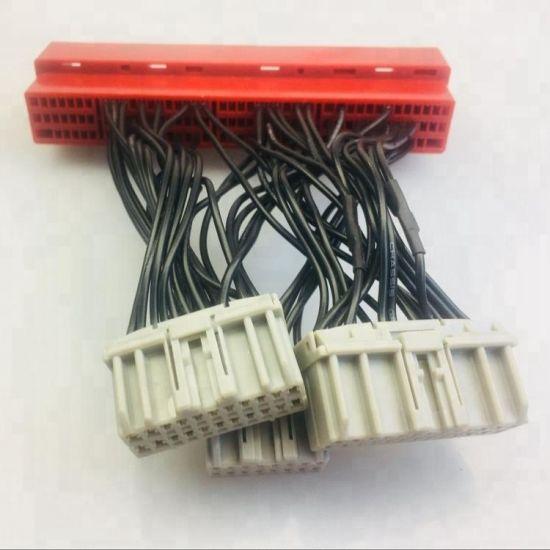 Automobile OBD2b to OBD1 ECU Jumper Conversion Wire Harness on