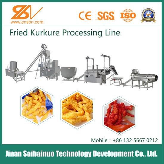 Hot Selling Full Automatic Corn Snacks Kurkure Food Processing Line