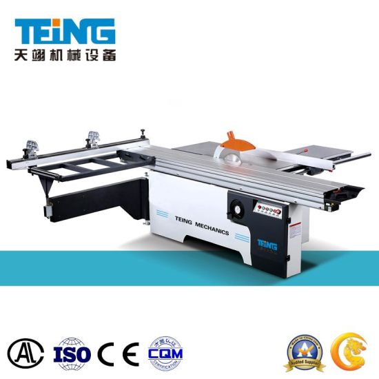 Woodworking Machine Sliding Table Panel Saw Cutting Cut off Saw