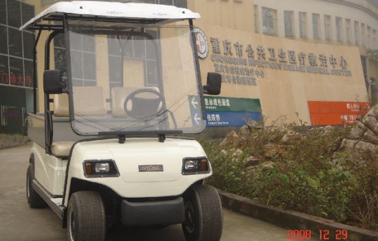 Electric Utility Vehicle with Cargo Box pictures & photos