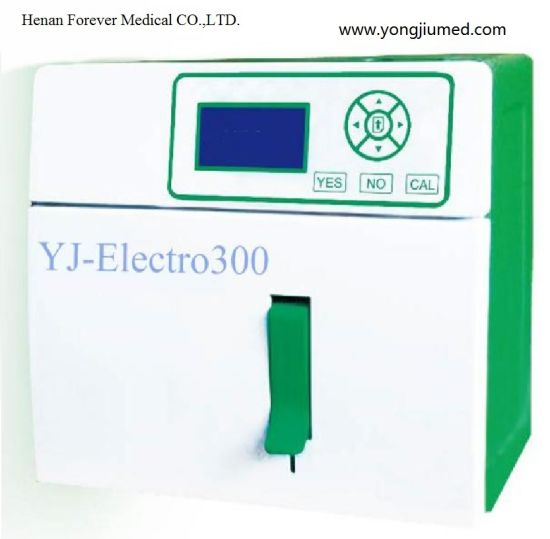 Hot Sale Semi Automatic ISE Electrolyte Analyzer Machine pictures & photos