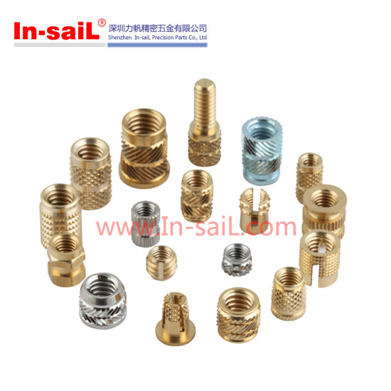 Brass Knurled Threaded Insert Nut for China Manufacturer