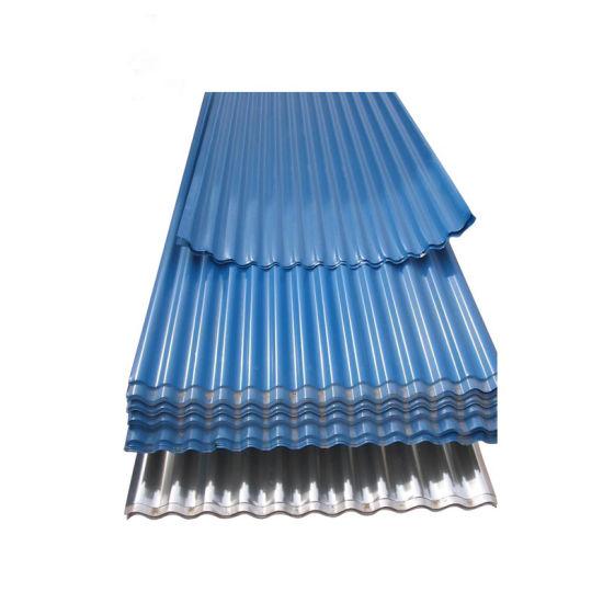 Prepainted 4 Angle Zinc Coated Galvanized Iron Roofing Sheet