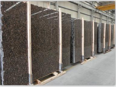 Competitive Cheaper Baltic Brown Granite Stone Tile, Slab Made in China