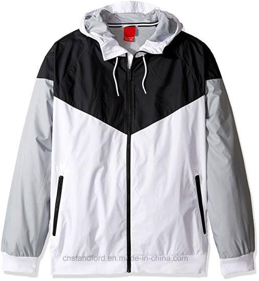Mens Windrunner Hooded Track Jacket