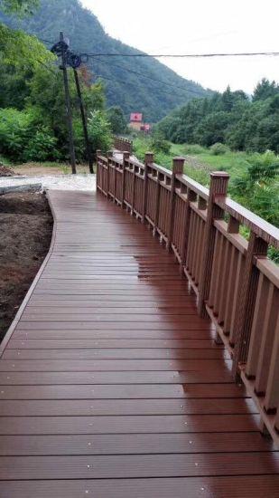 Wood Plastic Composite Railing Materials WPC Handrail