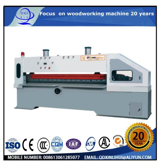 Cheap Price Veneer Guillotine Cutter with Single Knife/ Two Knives