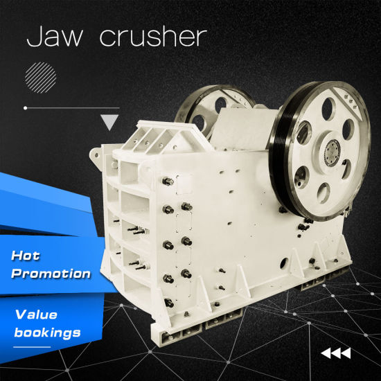 Rock Crusher, Large Capacity Rock Jaw Crusher for Mining pictures & photos