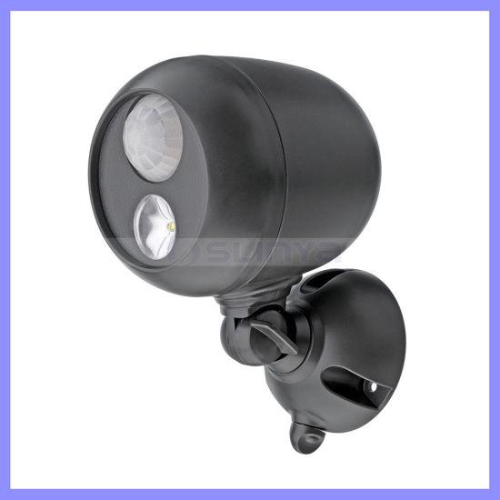 Wireless Smart Motion Sensor LED Light for Garden Corridor Garage Outdoor Indoor Induction Lamp Spotlight (1119)