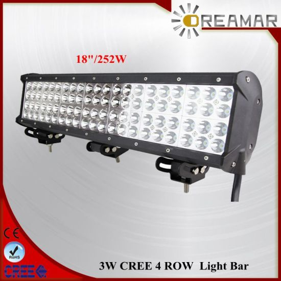 China 252w 18inch led light bar with ce rohs certification china 252w 18inch led light bar with ce rohs certification aloadofball Gallery