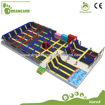 Indoor Trampoline Park with CE Certification pictures & photos