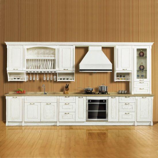China Lesso Wood Impression Classical Rta Kitchen Cabinet China