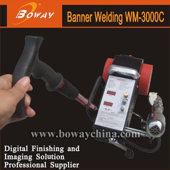 Wm-3000c Plastic Banner Welder Welding Machine