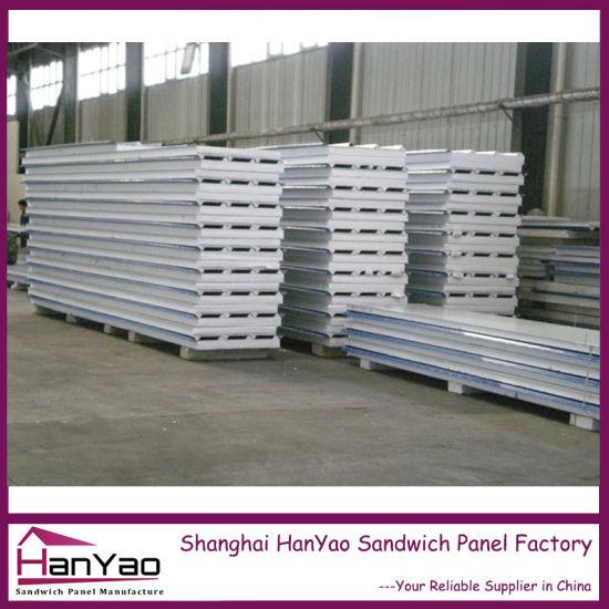 China Thermal Insulation Galvanized Steel EPS Sandwich ...