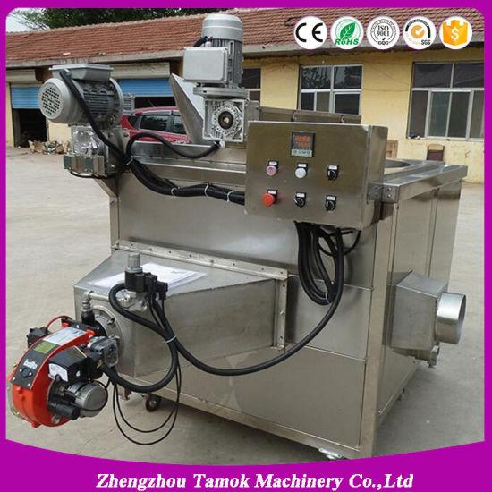 Automatic Loading Discharging Stirring Water Mixture Deep Snack Fryer