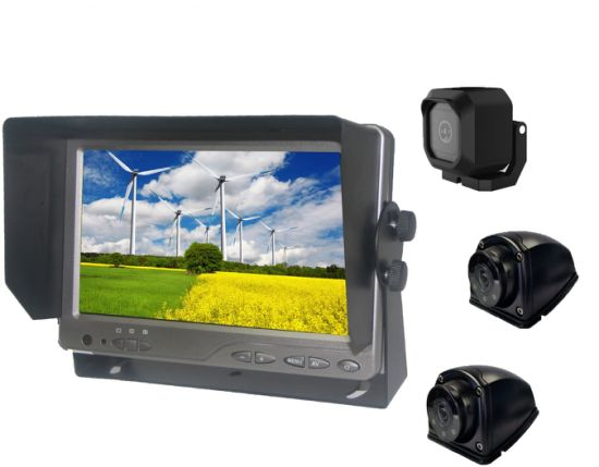 7inch Ahd Backup Rearview Camera System for Car