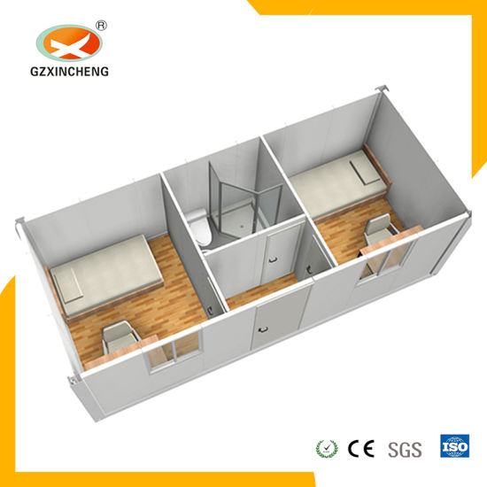 Chinese Manufacture Prefabricated Mobile Container House for Shower Room pictures & photos