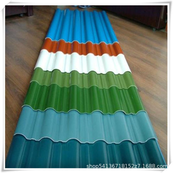 Steel Colour Coated Steel Roofing Sheets Galvanized Corrugated Waterproof
