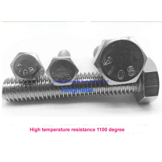 New Product Launch Stainless Steel 310S Stub Bolt with Nuts High Temperature Resistance