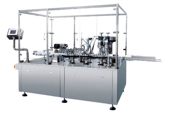 Spray Filling and Sealing Machine