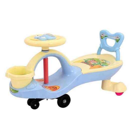 Hot Selling Kiddie Ride Car Star Warship with Colorful Light Kids Swing Car Game Machine Ks-26 pictures & photos