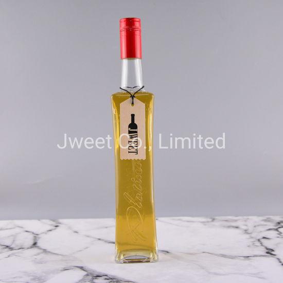 500ml Empty Wine Tequila Glass Bottle with Screw Cap