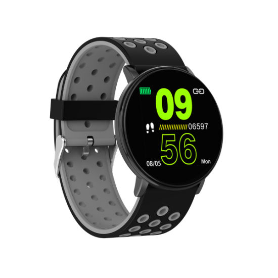 Two Color Watchband Multi Functions Gift Watches for Adult