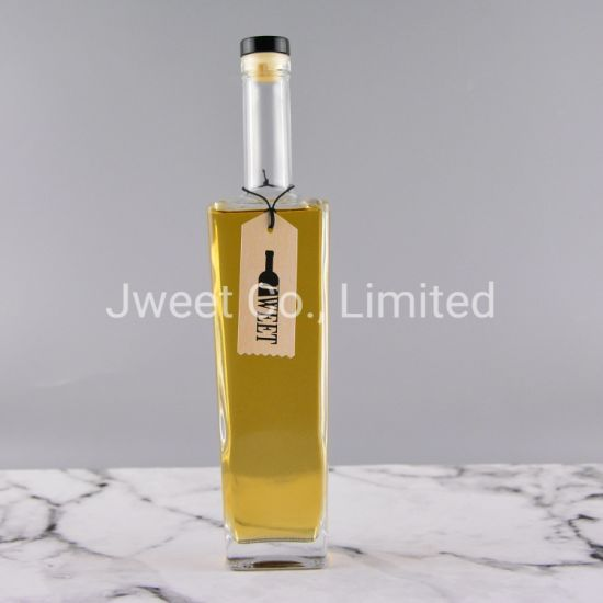 500ml Frosted Wine Anejo Empty Glass Bottle with Cork