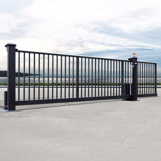 House Main Sliding Gate Designs with Strong AC Motor