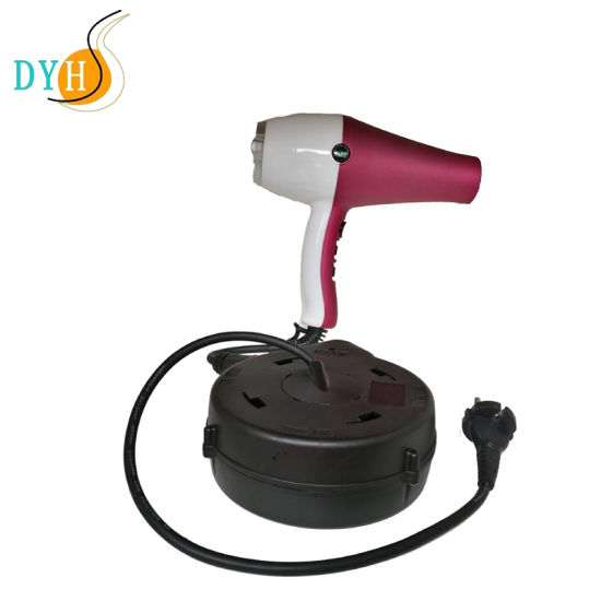4.8m Spring Rewind Retractable Power Extension Cord Reel Special for Barber Salon Shop
