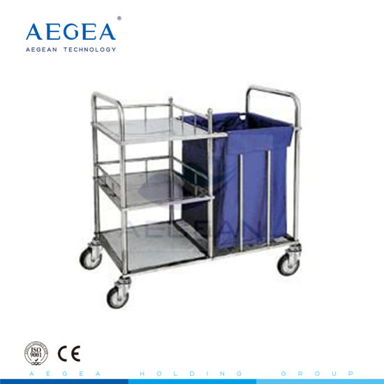 with Three Layers One Linen Bag Medical Hospital Crash Cart