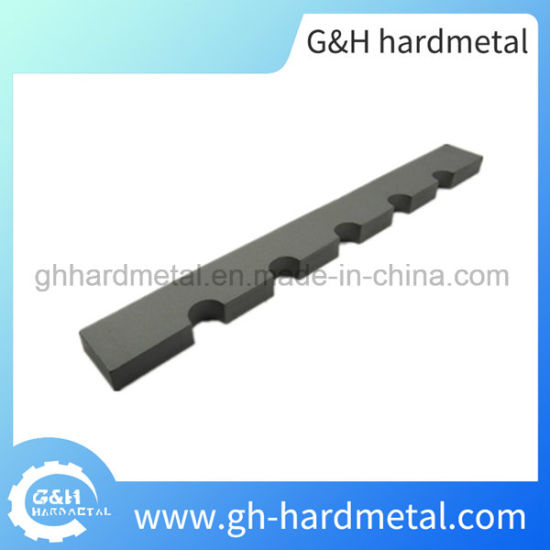 China Various Type Tungsten Carbide Strip for Scrap Chopper