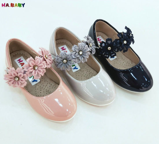 2018 Hot Sale Kid New with Flower Children Princess Dress Show Shoes for Girl and Baby