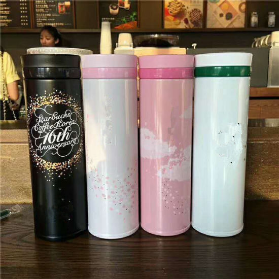 9e9a54beeef China 17 Oz Flat Lid 304 Stainless Steel Vacuum Insulated Travel Mug ...