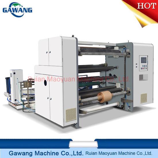 High Equipment Most Popular Adhesive Paper/BOPP/CPP/Pet/PE Slitting Machine Slitting Rewinding Machine China Manufacture