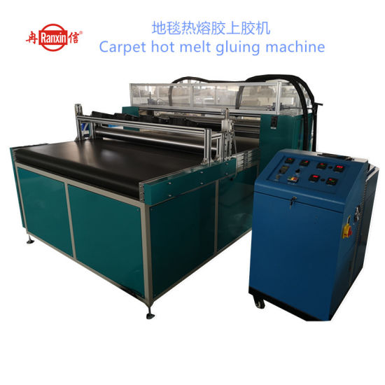 Carpet Hot Melt Gluing Machine -Upper Roller Glue Coating Machine