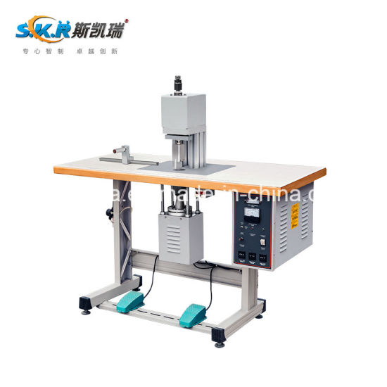 Semi-Automatic Ultrasonic Cutting Machine with Cylinder Controlled