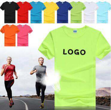 Summer Dress Solid Color with Round Neck Custom Fabric Casual Custom Logo Fast Delivery Men's T-Shirt