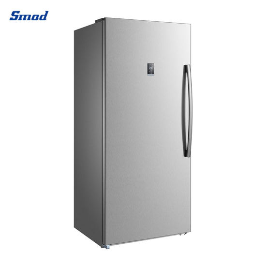 13.8/17/21 Cu. FT Home White Stainless Steel Upright Vertical Freezer