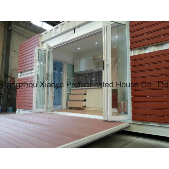 20FT China Expandable Modified Prefabricated Modular Shipping Container Home pictures & photos
