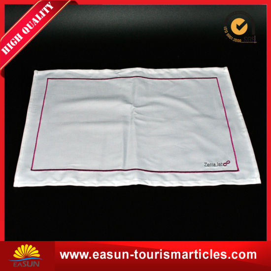 Cotton Linen Non-Woven Tablecloth for in-Flight pictures & photos
