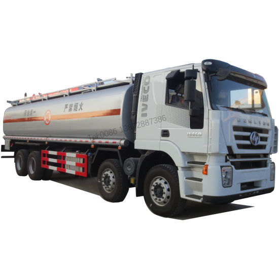 Iveco Hongyan Genlyon 6X4 Stainless Steel Fuel Tank Truck for Sale
